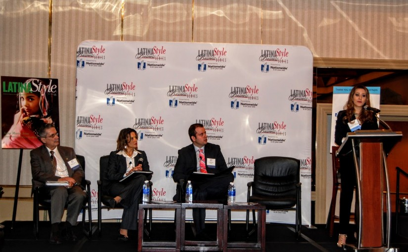 Moderating in Style – Latina Style Business Series Miami