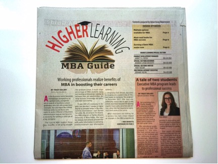 Never Stop Learning – My EMBA at FAU