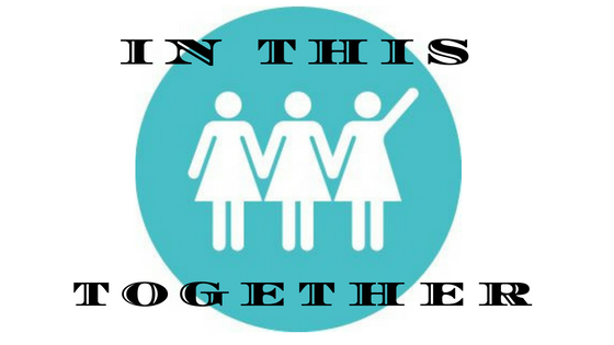 Finally somebody gets it – We're in this TOGETHER!