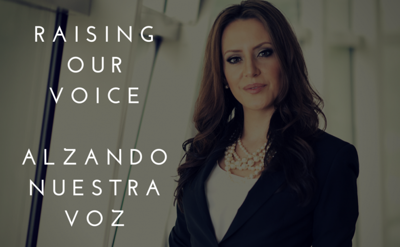 Taking a Stance – Alzando mi Voz